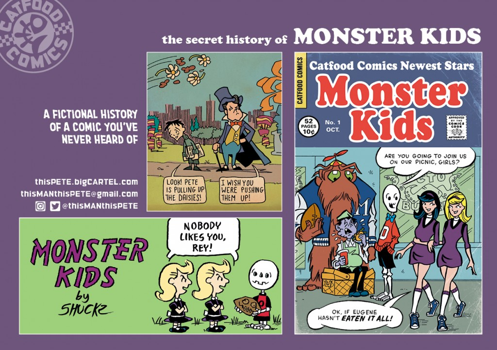 Catfood Comics Secret History of Monster Kids